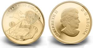 カナダ1ドル硬貨
