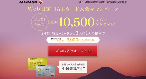 旅、ショッピングでもマイルがたまる【JALカード】