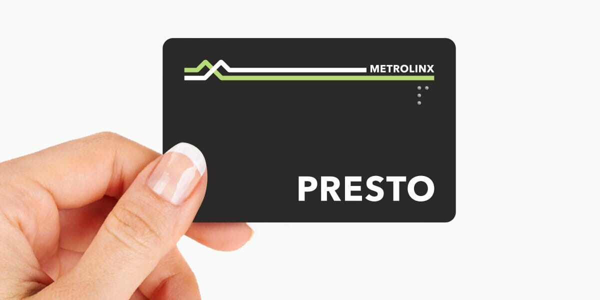 Photo from twitter @PRESTOcard